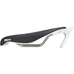 Fabric Tri Race Flat Sadel, black/white